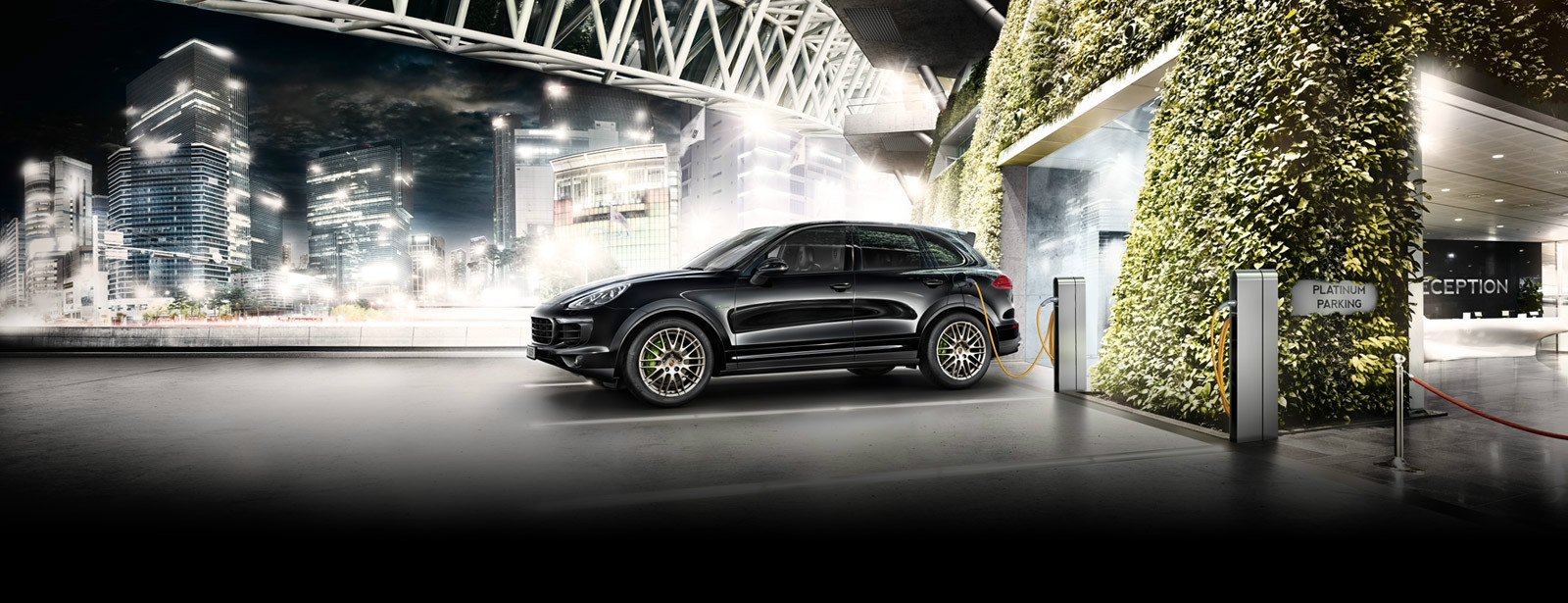 Porsche - Cayenne S E-Hybrid Platinum Edition - Accomplished performance.