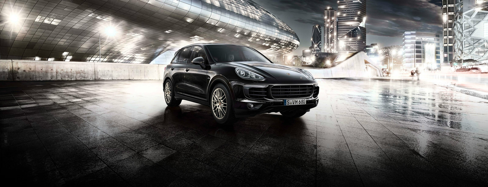 Porsche - Cayenne Diesel Platinum Edition - Accomplished performance.