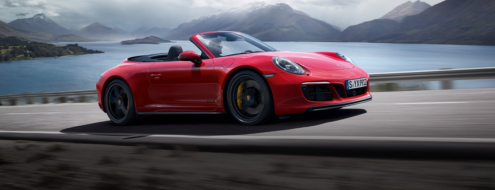 Porsche - 911 Carrera GTS Cabriolet - Driven for more.