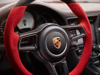 GT2 RS Sports steering wheel