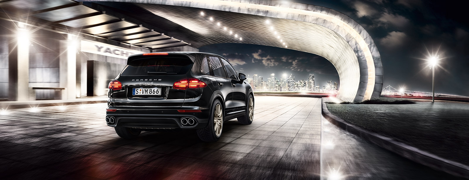 Porsche - Cayenne S Diesel Platinum Edition - Accomplished performance.